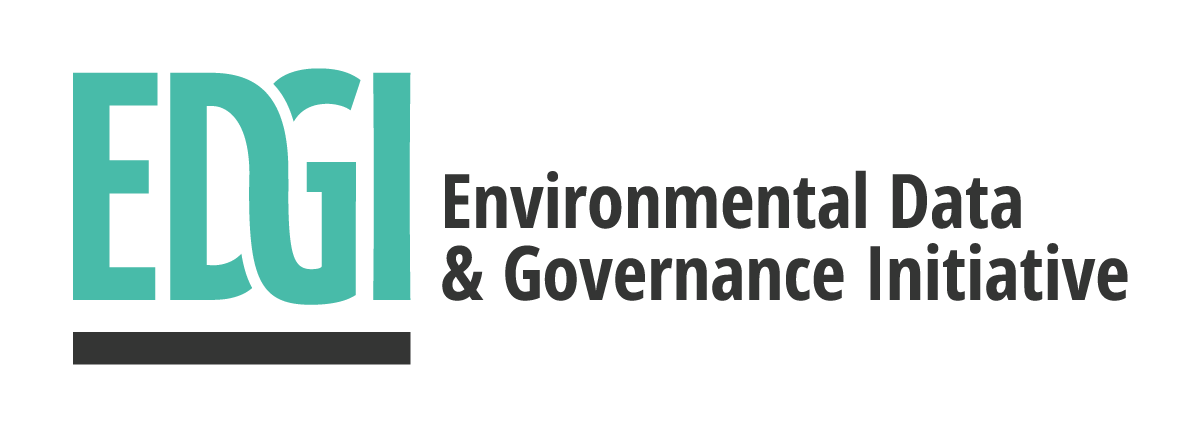 Environmental Data and Governance Initiative