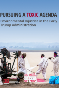 Pursuing A Toxic Agenda