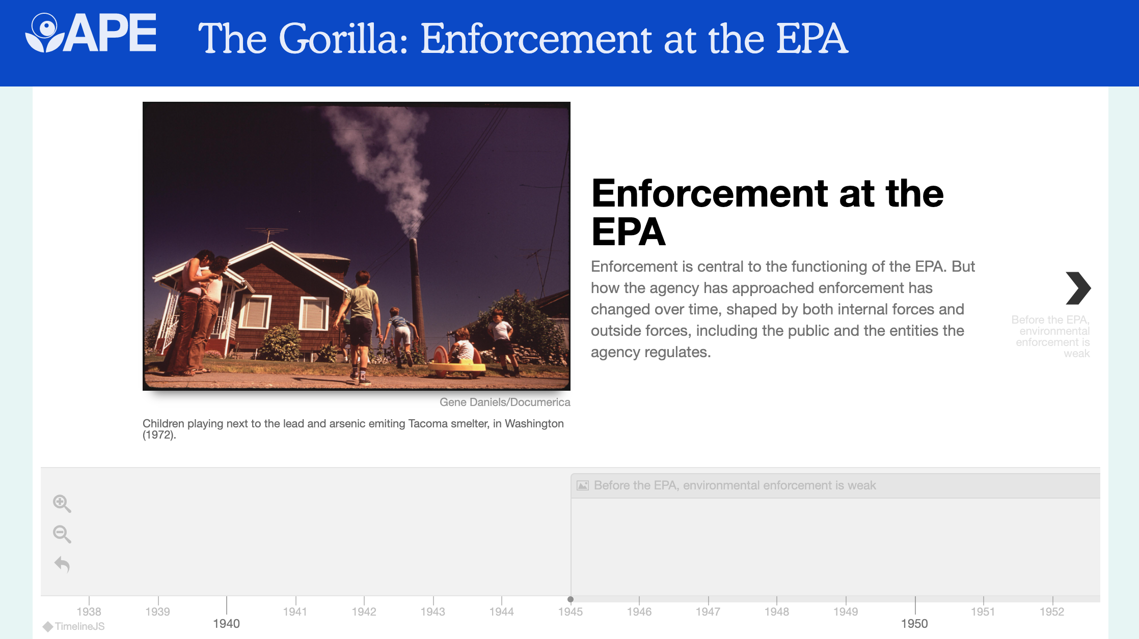 A New Chapter for Enforcement at the EPA?